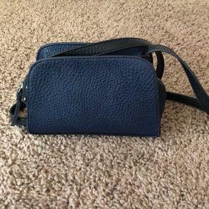 Vegan leather small Free people shoulder bag